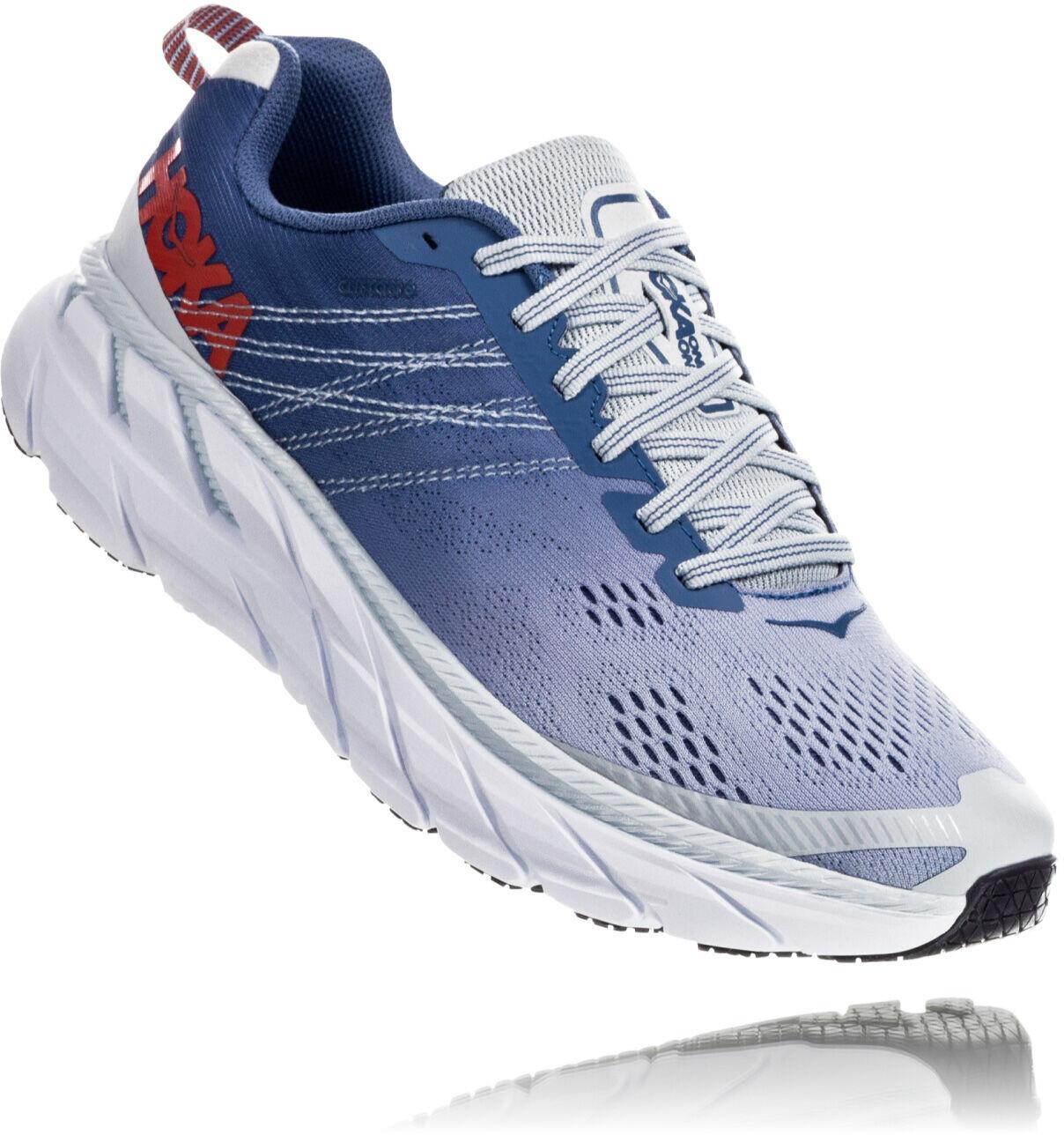 Hoka One One Clifton 6 Running Shoes Women plein airmoonlight blue